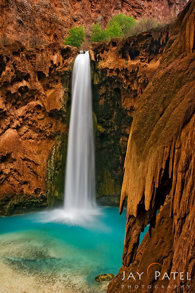 Mooney Falls, Havasu Canyon, Arizona (AZ), USA