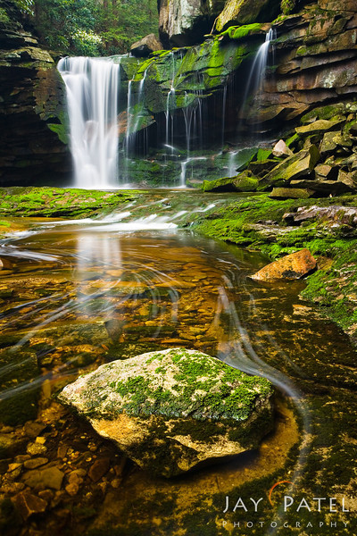 Elakala Falls, Blackwater Falls State Park, West Virginia (VW), 