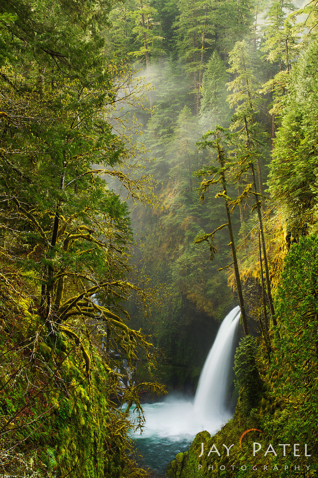 Metlako Falls, Columbia River Gorge, Oregon (OR), USA