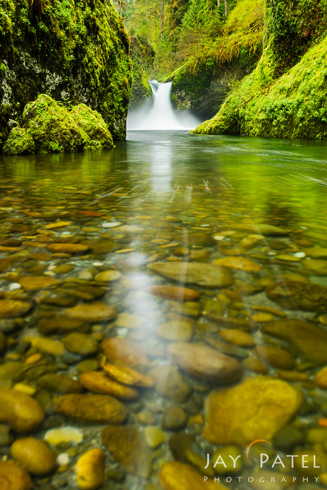 Punch Bowl Falls, Columbia River Gorge, Oregon (OR), USA