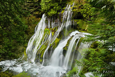 Pnther Creek Falls, Washington (WA), USA