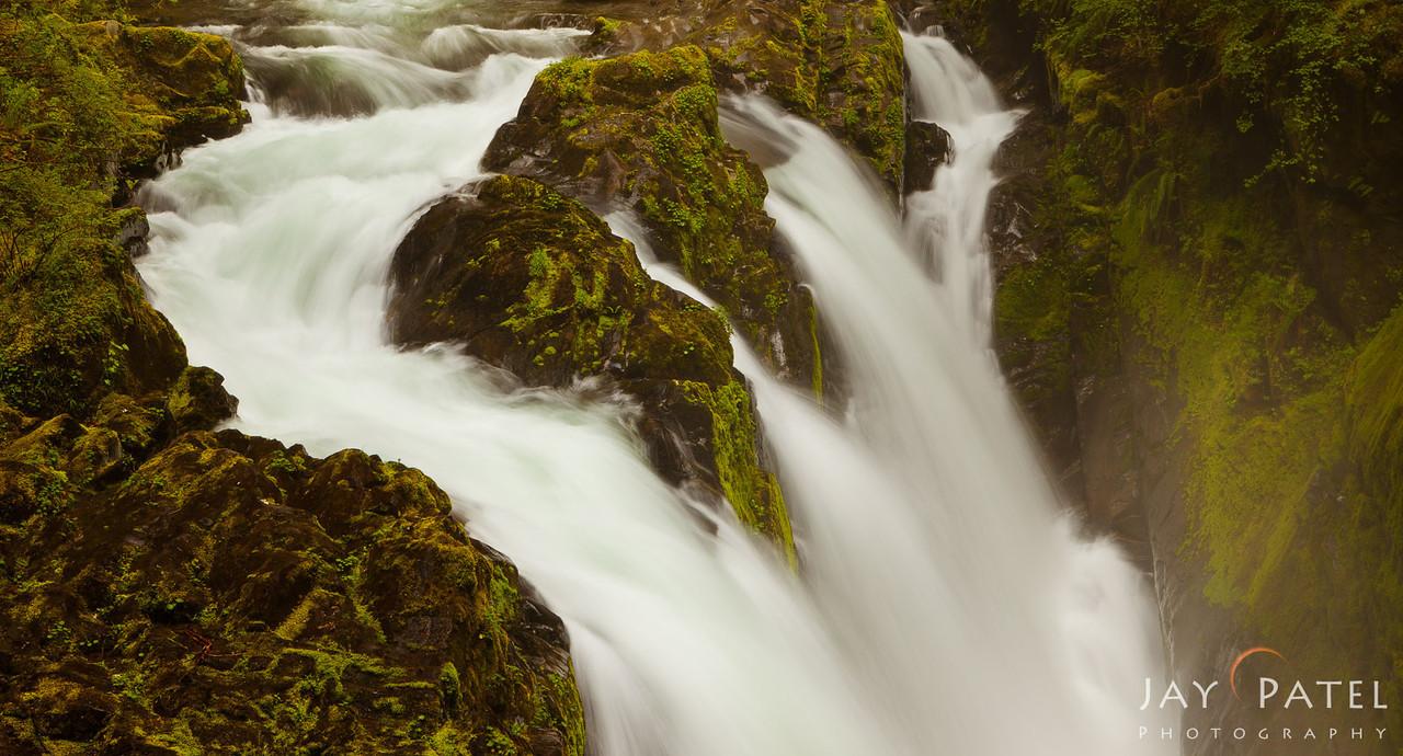 Sol Duc Falls, Olympic National Park, Washington (WA), USA