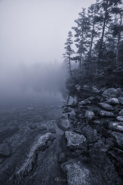 Misty Lonesome Lake