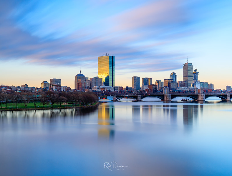 Sunrise in Boston