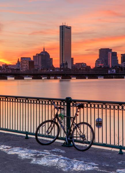Boston and the Bike