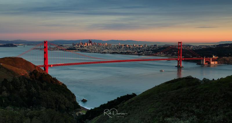 San Francisco Bay at Sunset