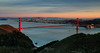 San Francisco Bay at Sunset