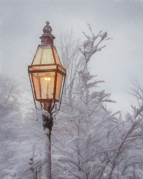Boston Streetlamp