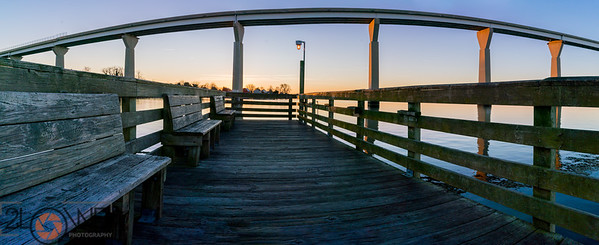 Benches at Sunrise