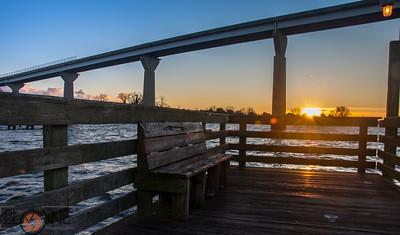 Solomon's Pier at Sunrise