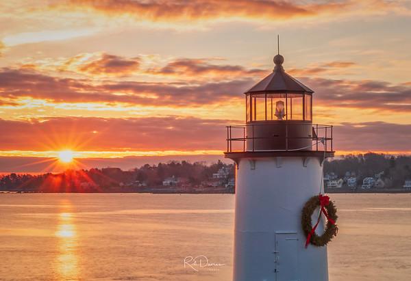 Winter Island Light at Sunrise