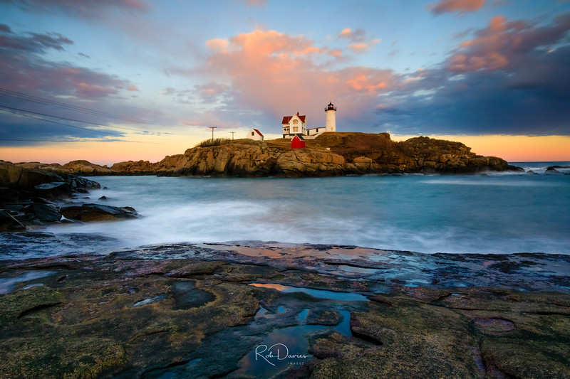 Nubble at Sunset