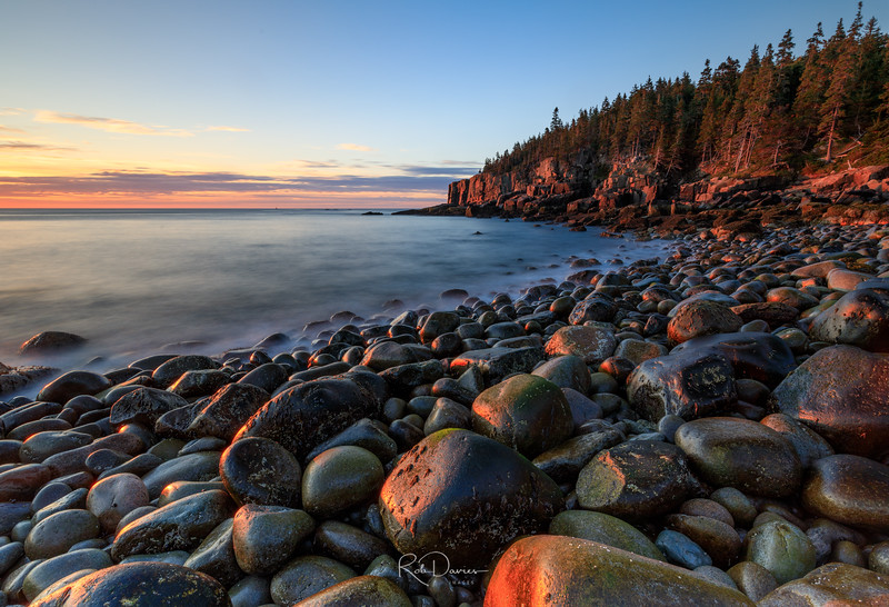 First Light on Boulder Beach
