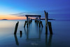 Old Pier at Blue Hour