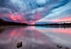 Sunset at Mystic Lake