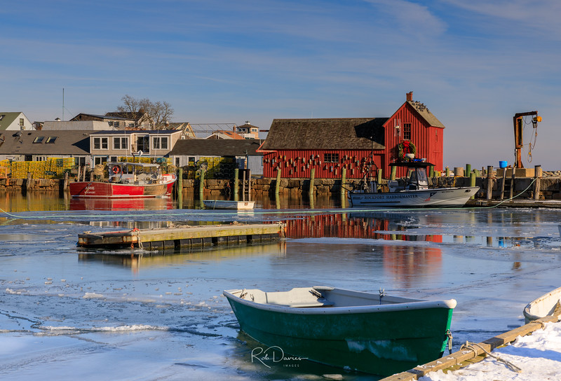 Frozen in Rockport