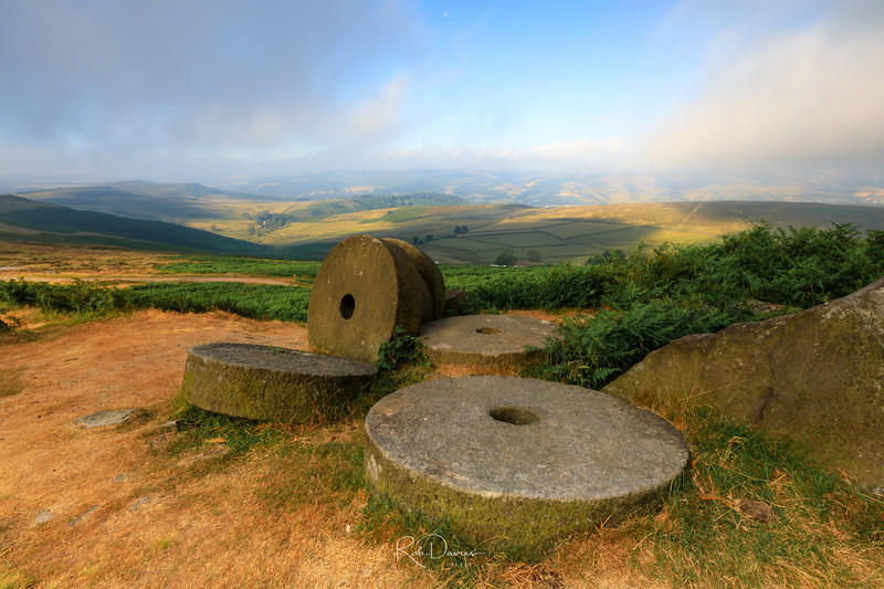 Stanage edge millstones