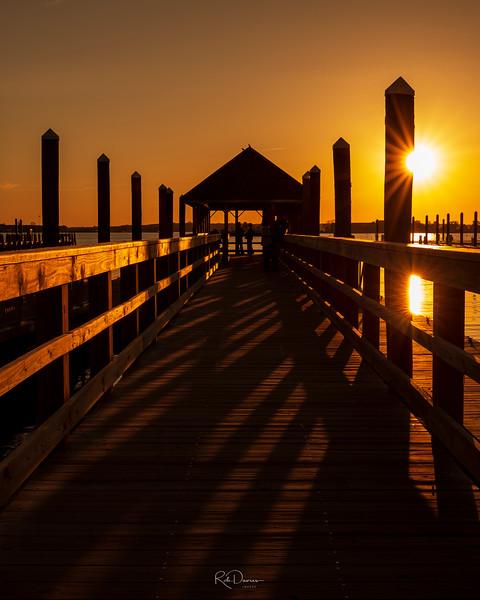 Newport Pier Sunset
