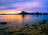 Elgol Lake Sunset - Isle of Skye, Scotland