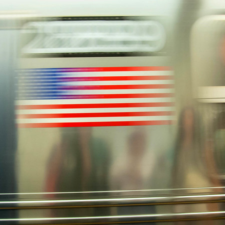 Subway Abstract in America, NYC