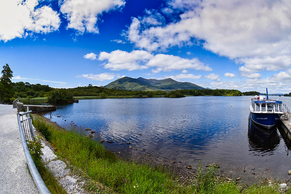 View of the MacGillycuddy's Reeks