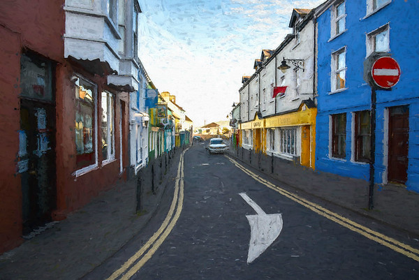 This Way, Dingle, painterly