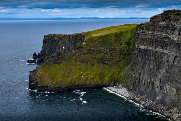 Bluffs at the Cliffs of Moher