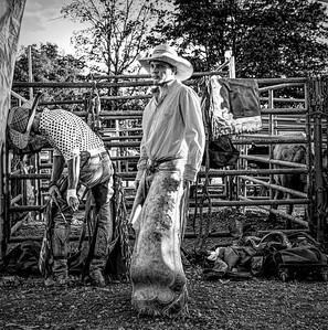 Gearing up, rodeo