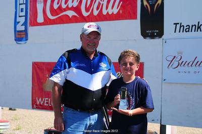 August 5, 2012 - Coca Cola Points Race #6