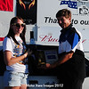 Ashley Holm, Pierre, South Dakota Drag Racing State High School Champion, w/ Mike Schmidt, Oahe Speedway