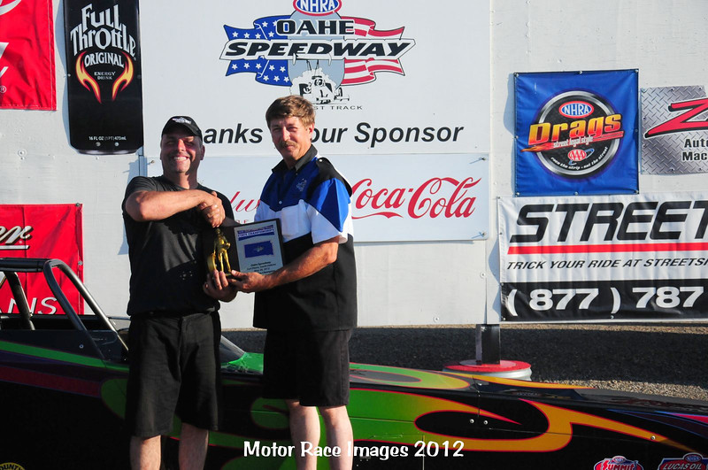 Dale Garber, Pierre, 2012 South Dakota Drag Racing State Champion, Super Pro