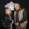 Charlee Schumacher, Rapid City, SD, 4th place, 2013 Coca Cola BankWest Junior Major division, with Milton Morris, Oahe Speedway track owner