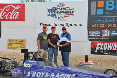9th Annual NHRA National Open Finals and Oahe Speedway Class Races September 22, 2013