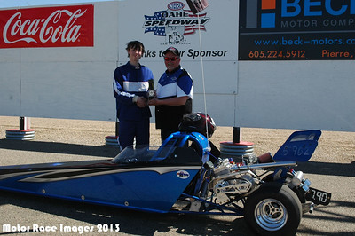 Oahe Speedway Class Races w/ 2012 Papa Murphy's 100 MPH Club Challenge May 12, 2013