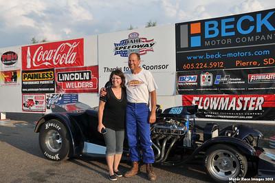 Oahe Speedway Shootouts w/2013 Mayor's Challenge July 6, 2013