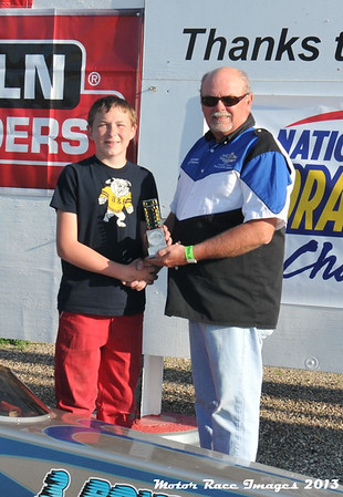 Oahe Speedway Shootouts w/Coca Cola Junior Major and Minor Points Race #5 August 3, 2013