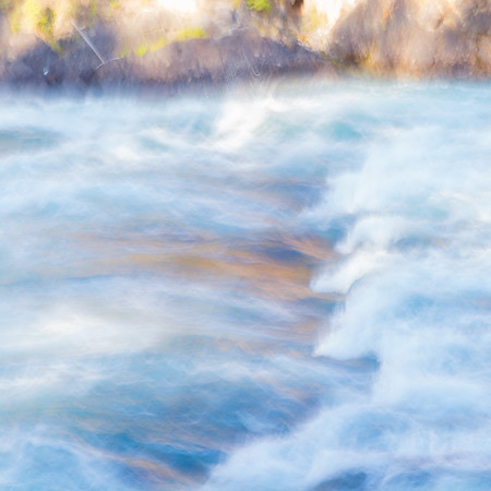 Energy of the Glacier Waters