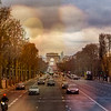 Afternoon Streets of Paris