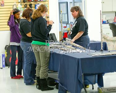 Flute All Region Clinic 2011