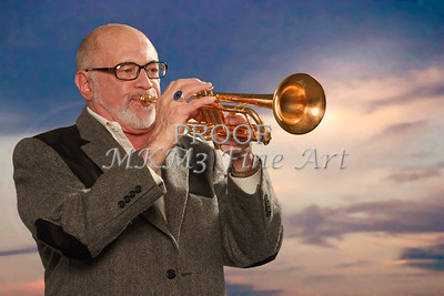 Mike Vax Professional Trumpet Player Photographic Print 3765.02