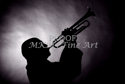 Mike Vax Professional Trumpet Player Photographic Print 3768.02