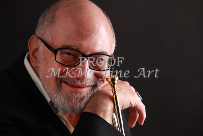 Mike Vax Professional Trumpet Player Photographic Print 3760.02