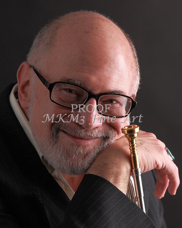 Mike Vax Professional Trumpet Player Photographic Print 3759.02
