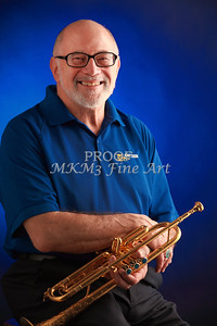 Mike Vax Professional Trumpet Player Photographic Print 3771.02