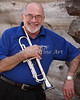 Mike Vax Professional Trumpet Player Photographic Print 3770.02