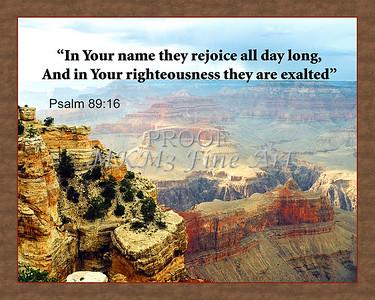 Psalm 89 16 Zazzle  copy