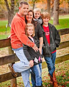 Brian Hudson Family November 24, 2011 Art Print from Thanksgiving 3918.02