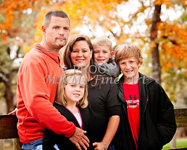 Brian Hudson Family November 24, 2011 Art Print from Thanksgiving 3916.02