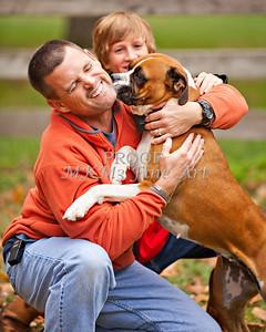 Brian Hudson Family November 24, 2011 Art Print from Thanksgiving 3926.02