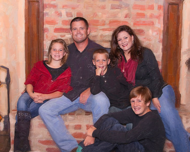 235 Hudson Family Print